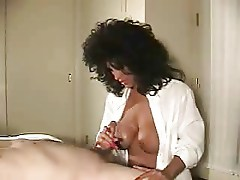 terrific mature handjob - magic hands (+cumshot)