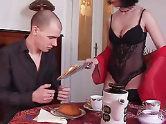 MILF Fucking at breakfast
