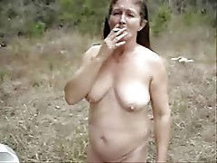 Very sexy mature lady fully nude