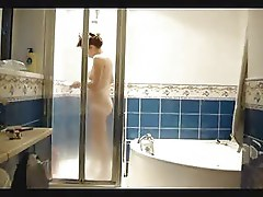 See my cute mum totally nude. Hidden cam