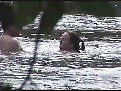 Couple Having Sex In The  Board River Boiling Springs N.C.by beachbootyboy