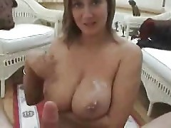 She gives a great tit fuck