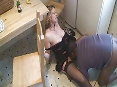 French mature analfucked by black dick