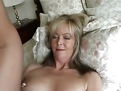 Mature fully fashioned nylon fun
