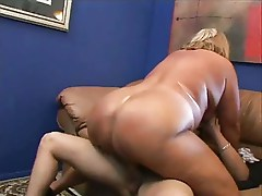 Hot 60+ mature BBW getting fucked.