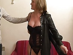 Mature anal casting 3some (TheNylonChannel)
