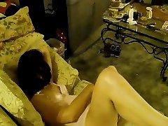 Mature Wife Plays With Her Pussy watching porn