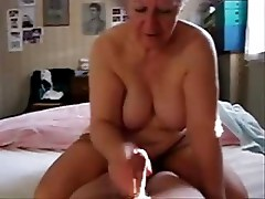 Stolen video of my mum jerking daddy