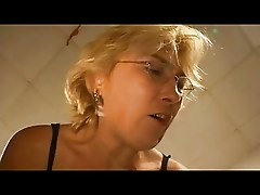 German Blond Busty Mature Hausfrau