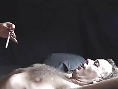 Mature Dominatrix Blows Smoke Into Face - By Fire-Ice