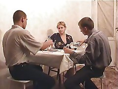 Russian Mature Veronika With Two Boys