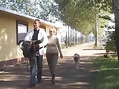 Mature Couple's Farmyard Fuck