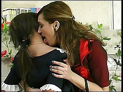 Mature and Young Lesbian Helena&Madeleine 1