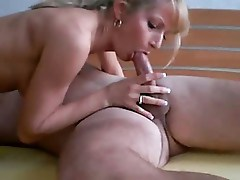 hot blonde gets her share of cock