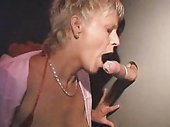 Mature german lady in sexshop