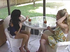 Hot MILF Cougars Smoking Sex Threesome