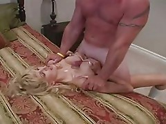 Hot Blonde Mature Raquel as Barbie