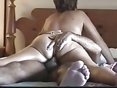 Wife riding dick and face