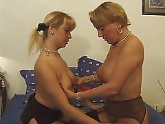 Mature And Young Babes