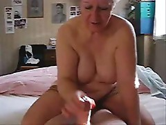 My mum jerking my dad. Stolen video from daddy computer