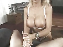 Lush Mature Blonde Loves His Cock