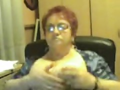 Web Cam  Marure granni 65 show boobs