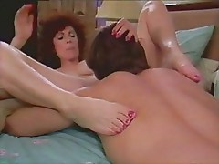 Classic vintage Kay Parker mother love - snake