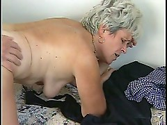 Granny gets a young dick