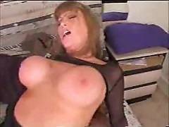 Hot Busty MILF Riding - (mature hot milf)
