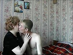 Russian mom son