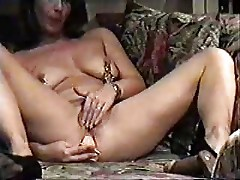 Family Voyeur. My kinky mom home alone masturbating