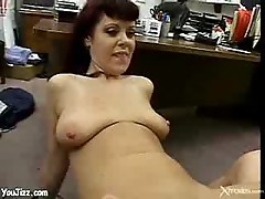 Milf peels off that bra - (mature hot milf)
