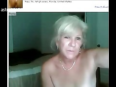 Mature Granny Webcam38