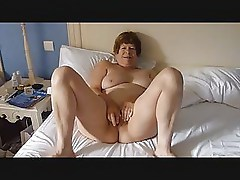 Mature Exhibitionist Wife Masturbating then being fucked