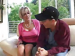 blonde mature and young guy part1 by jackass