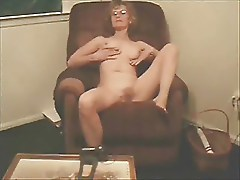Classy Blonde Filming Herself
