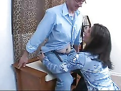 CRAZY WIFE STACIE - BJ WITH CUM BUBBLES  -B$R