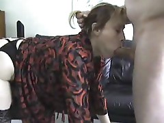 Busty mature fucked doggystyle