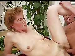 Mature Lady with Nice Nipples and Lovely Labia Fucks