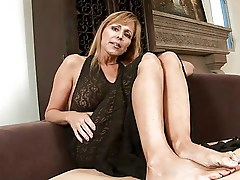 Cougar milf sucked and gets fucked
