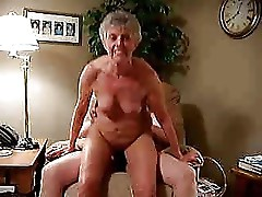 Old bitch riding my cock