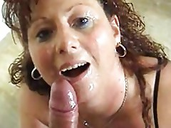 HORNY GERMAN MATURE TAKES LOAD AFTER LOAD  -B$R