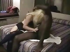 Hubby helps out wife