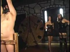 Extreme mature dominatrix babes bizarre forced balls busting